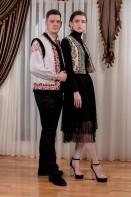 Vesta traditionala Munte si Flori, cusuta manual