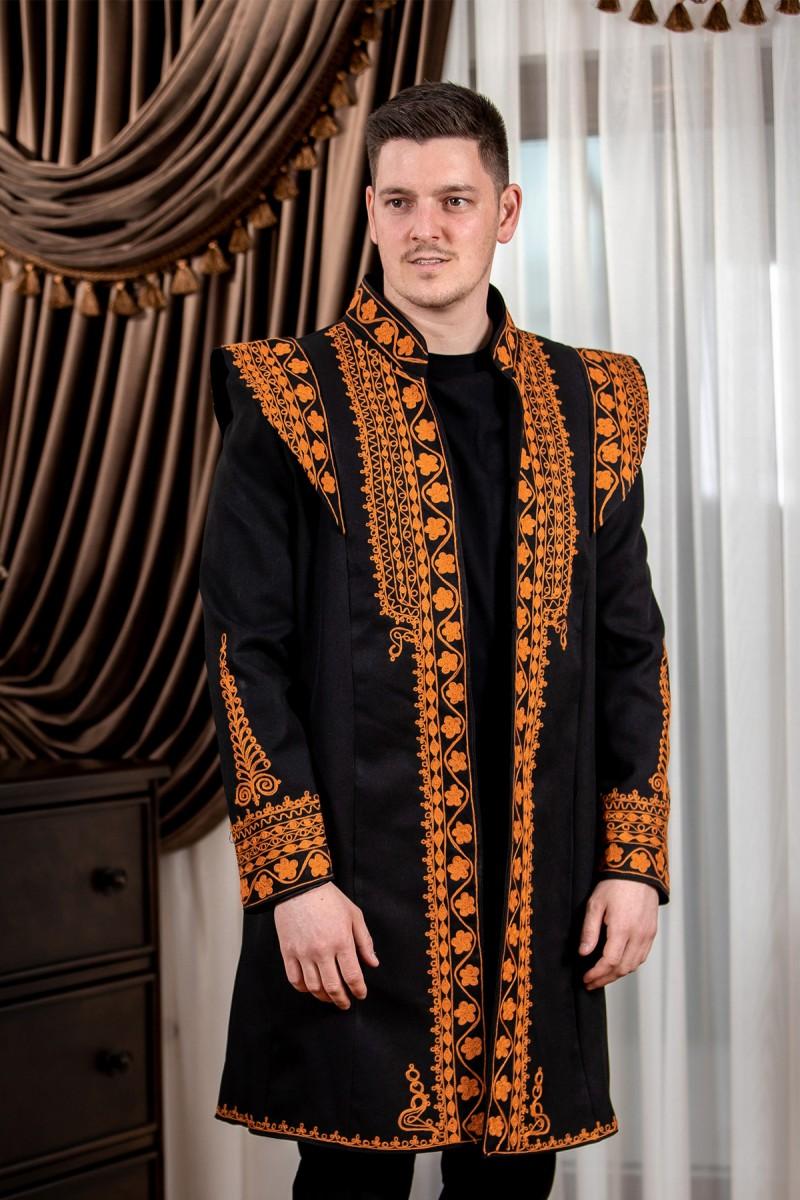 Redingota traditionala barbati Andrei