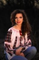 Ie romaneasca traditionala maneca lunga Eva - zona Muntenia