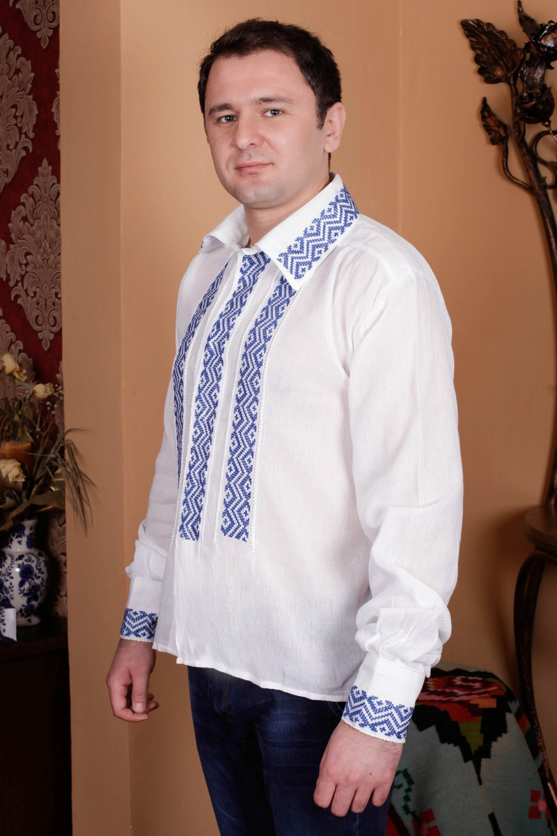 Camasa barbateasca traditionala Melcul