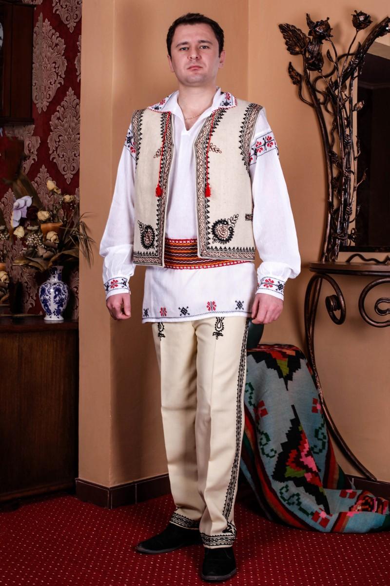 Camasa barbateasca traditionala Muntenia