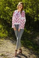 Ie romaneasca Furca Mare  brodata cu fir rosu bluza traditionala zona Gorj