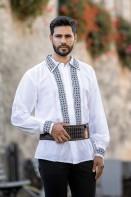 Camasa barbateasca traditionala Ponor zona Muntenia