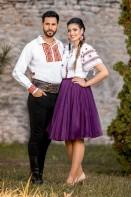 Camasa barbateasca traditionala Agapia