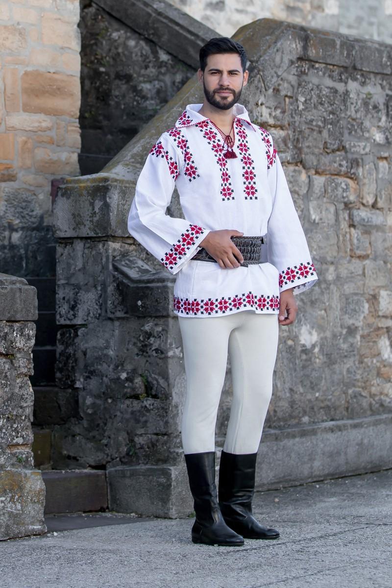 Camasa barbateasca traditionala Moldovita zona Moldovei