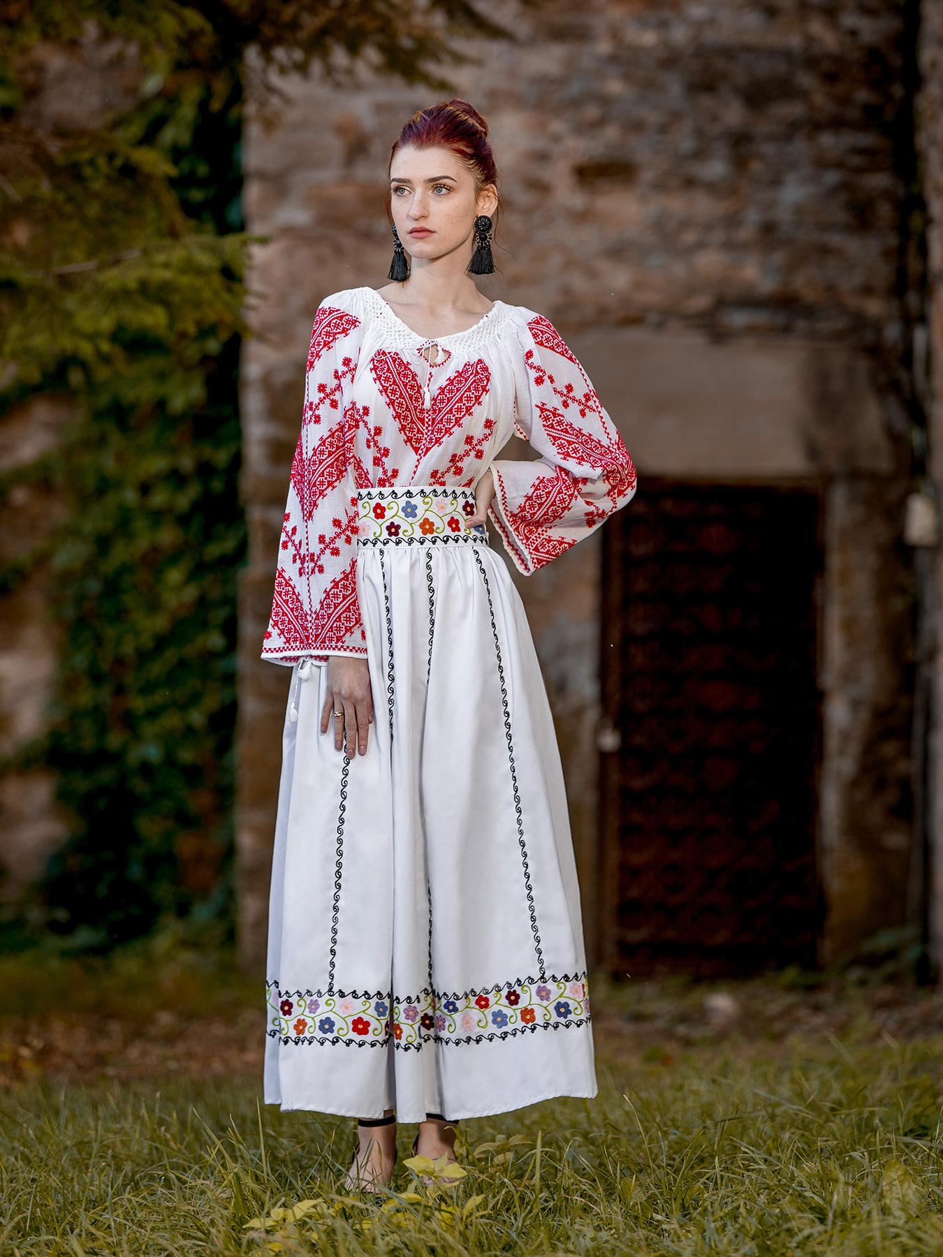 Ie Traditionala Romaneasca Crasna zona Oltenia