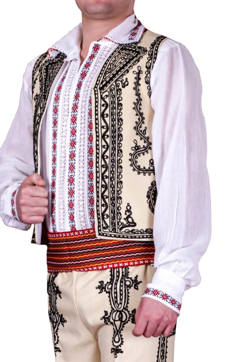 Costum popular barbatesc Gorj