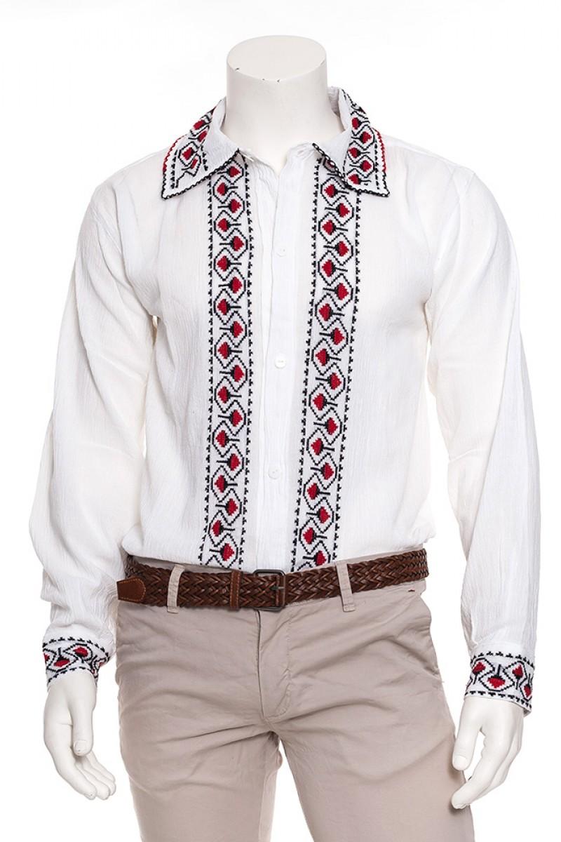 Camasa traditionala motivul Motu Curcanului