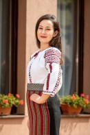 Costum popular autentic carul mic zona Moldovei