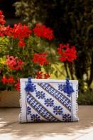 Rochie traditionala romaneasca Daria zona Muntenia + Geanta