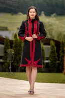 Suman traditional model Crin Rosu